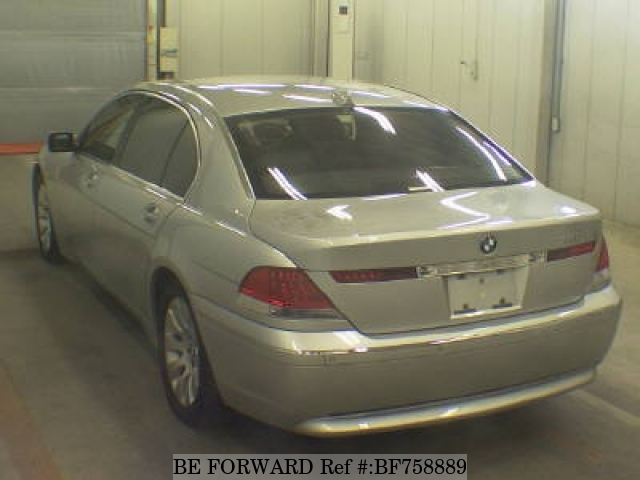 A used 2005 BMW 7-Series from online Japanese used cars exporter BE FORWARD.