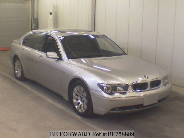 A used 2005 BMW 7-Series from online used Japanese exporter BE FORWWARD.