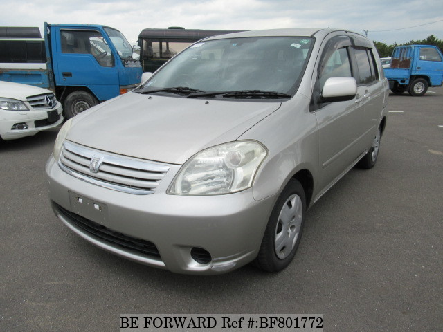 A used 2005 Toyota Raum from online used car exporter BE FORWARD.