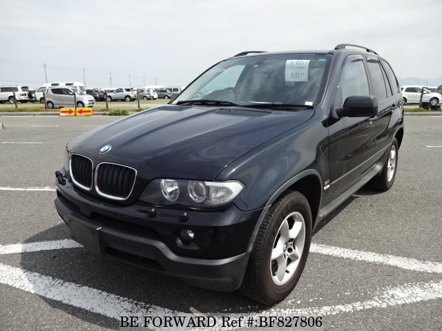 A used 2007 BMW X5 from online used car exporter BE FORWARD.