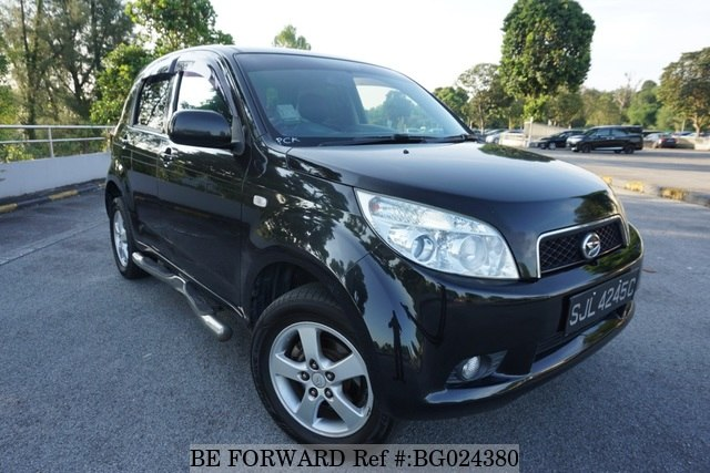 A used 2008 Daihatsu Terios from online used car exporter BE FORWARD.