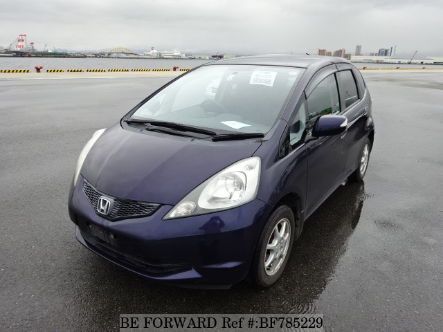 A used 2008 Honda Fit from online used car exporter BE FORWARD.