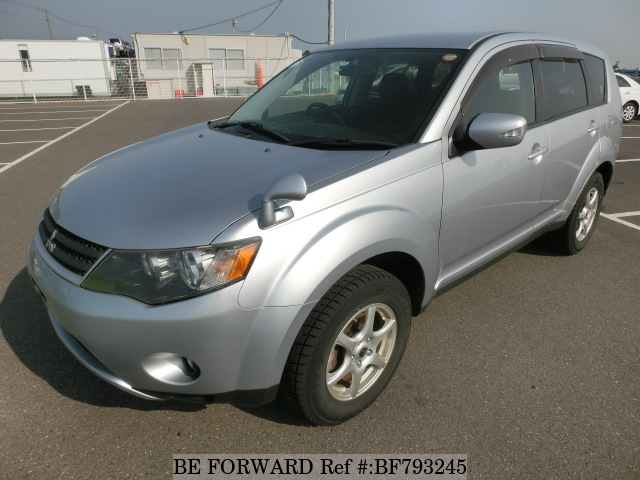 A used 2008 Mitsubishi Outlander from online used car exporter BE FORWARD.