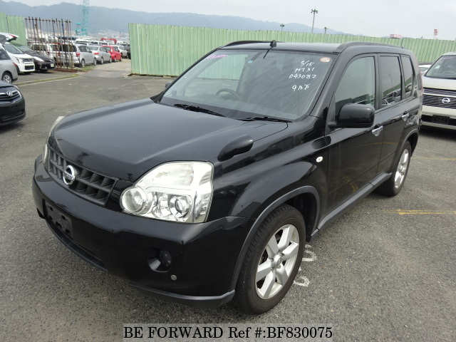 A used 2009 Nissan X-Trail from online used car exporter BE FORWARD.