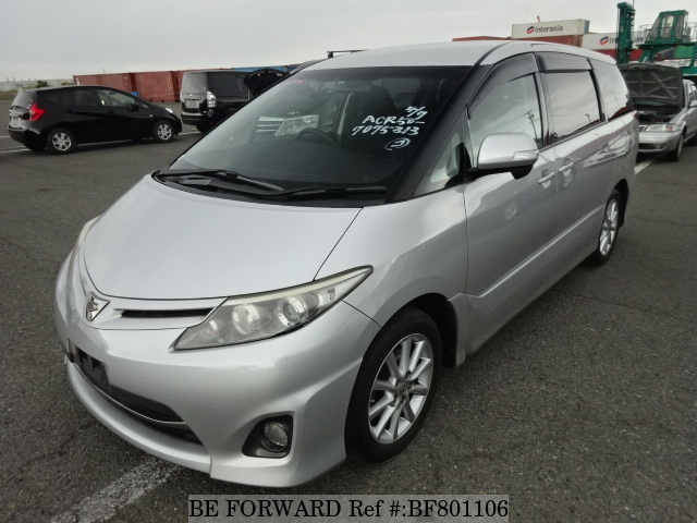 A used 2009 Toyota Estima from online used Japanese car exporter BE FORWARD.