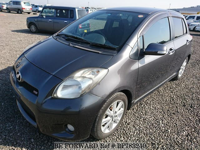 A used 2009 Toyota Vitz from online used car exporter BE FORWARD.
