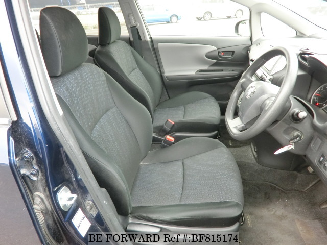 The interior of a used 2010 Toyota Wish from online Japanese used cars exporter BE FORWARD.