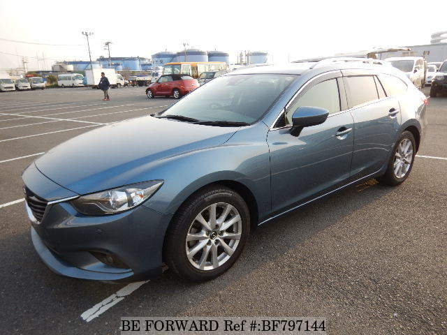 A used 2014 Mazda Atenza Wagon from online used car exporter BE FORWARD.