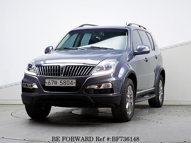 A used 2015 Ssangyong Rexton from online used car exporter BE FORWARD.