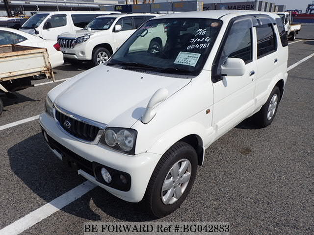 A used 2005 Daihatsu Terios from online used car exporter BE FORWARD.
