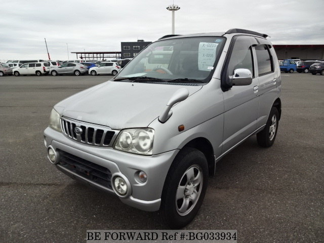 A used 2007 Daihatsu Terios Kid from online used car exporter BE FORWARD.