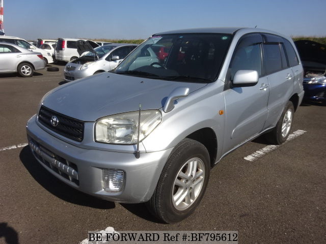 A used Toyota RAV4 from online used car exporter BE FORWARD.