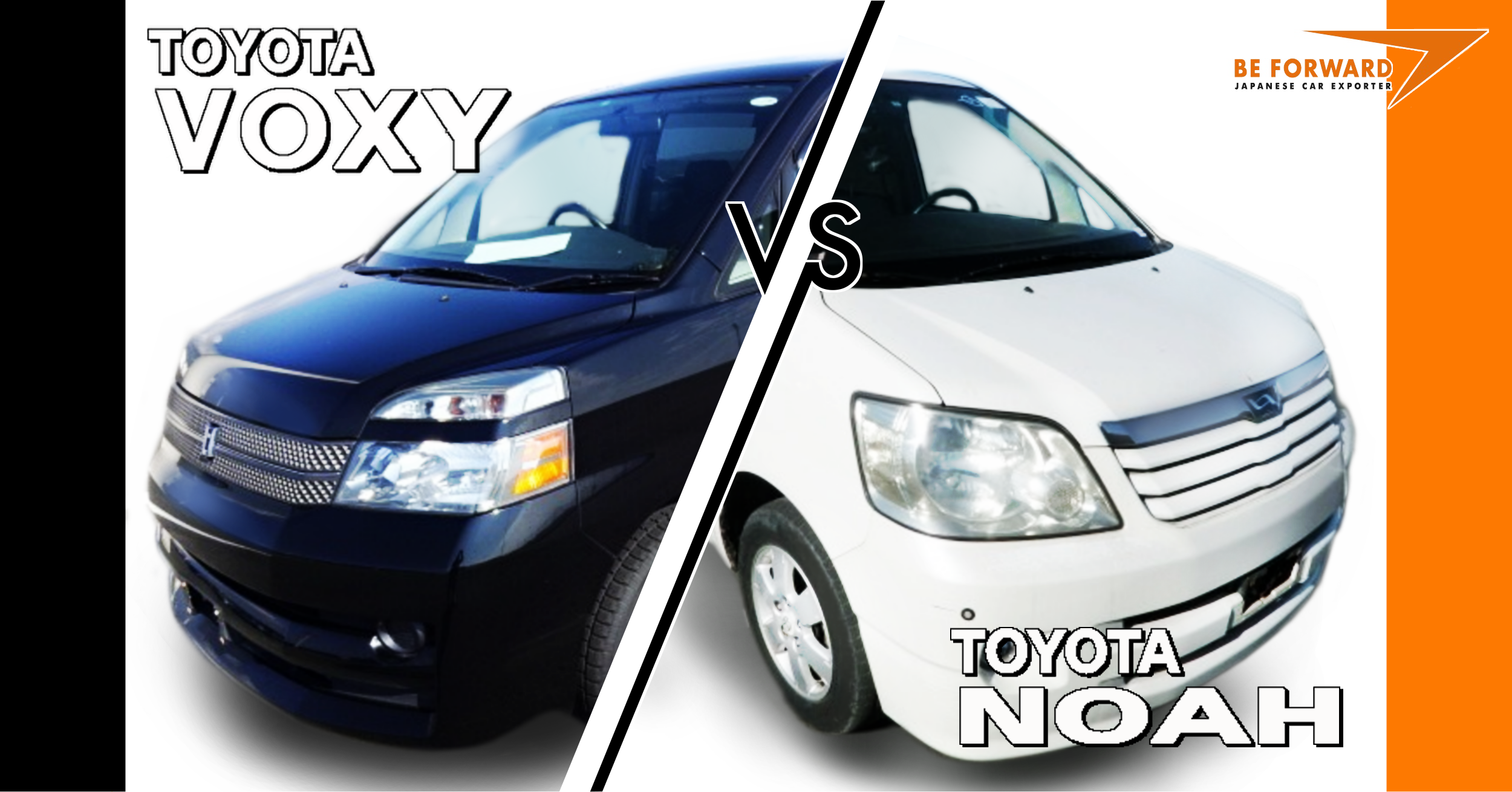 Toyota Voxy vs. Toyota Noah – Used Car Comparison