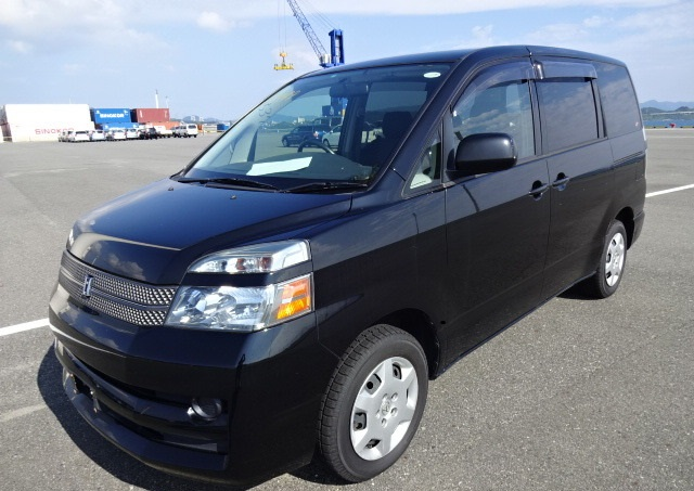 A used Toyota Voxy MPV from online used car dealer BE FORWARD.