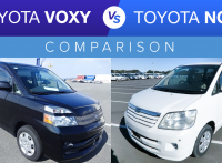 Toyota Voxy vs. Toyota Noah – Used Car Comparison with Video