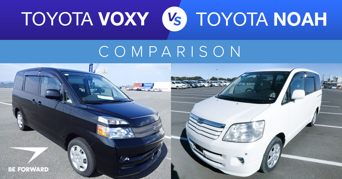 Toyota Noah Comparison Be Forward