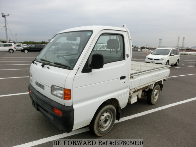 A used 1998 Suzuki Carry from online used car exporter BE FORWARD.