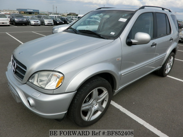 A used 2000 Mercedes-Benz from online used car exporter BE FORWARD.