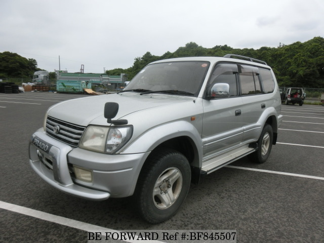A used 2000 Toyota Land Cruiser Prado from online used car exporter BE FORWARD.