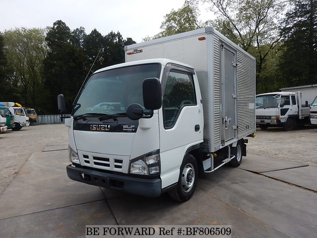 A used 2005 Isuzu Elf Truck from online used car exporter BE FORWARD.