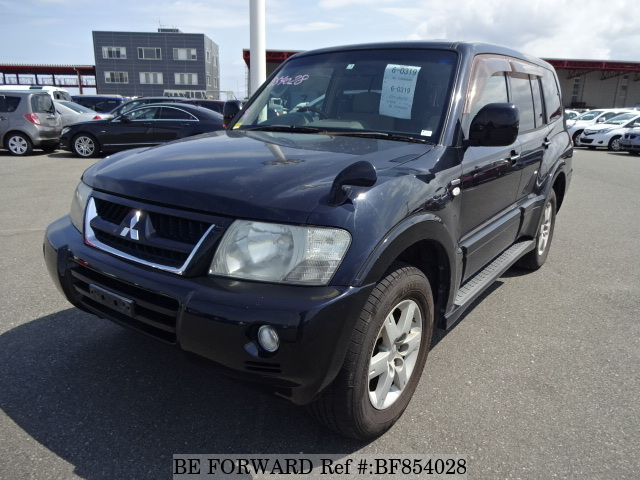 A used 2005 Mitsubishi Pajero from online used car exporter BE FORWARD.