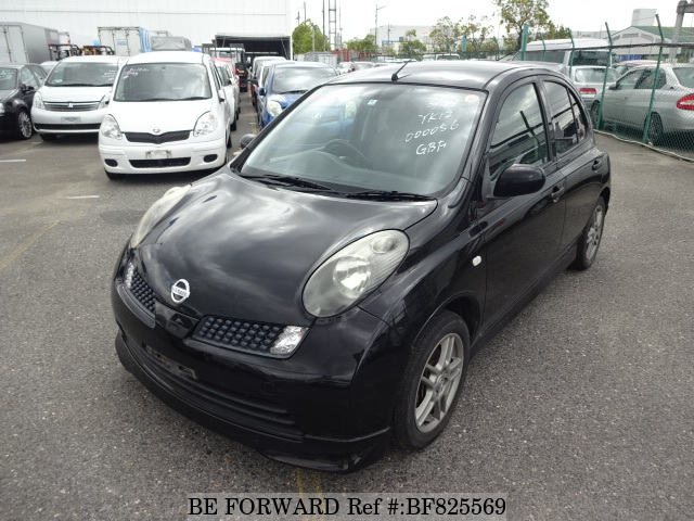A used 2005 Nissan March from online used car exporter BE FORWARD.