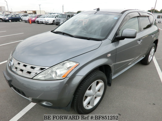 A used 2005 Nissan Murano from online used car exporter BE FORWARD.