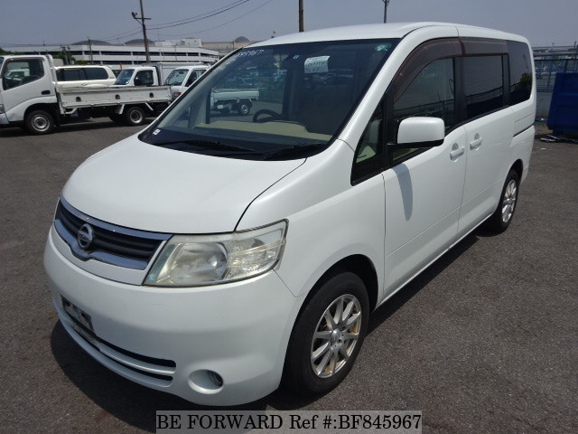 A used 2005 Nissan Serena from online used car exporter BE FORWARD.