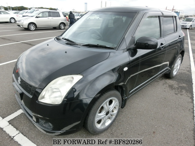 A used 2005 Suzuki Swift from online used car exporter BE FORWARD.