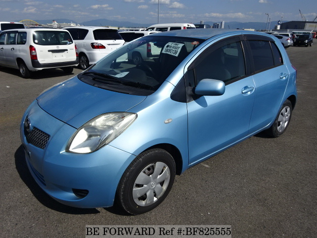A used 2005 Toyota Vitz from online used car exporter BE FORWARD.