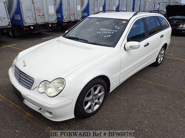 A used 2006 Mercedes-Benz C-Class from online used car exporter BE FORWARD.