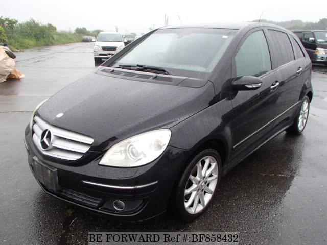 A used 2007 Mercedes-Benz B-Class from online used car exporter BE FORWARD.