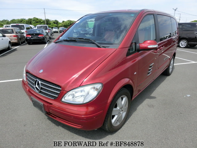 A used 2007 Mercedes-Benz V-Class from online used car exporter BE FORWARD.