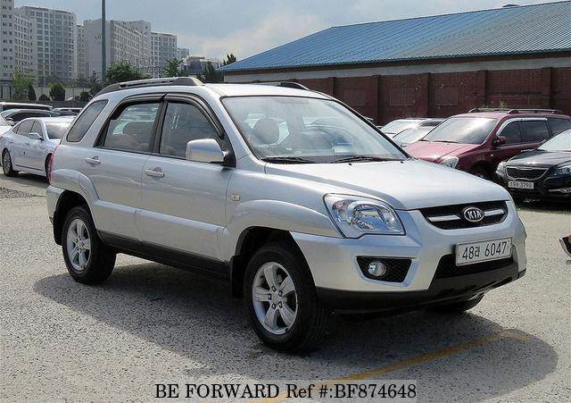 A used 2008 Kia Sportage from online used car exporter BE FORWARD.