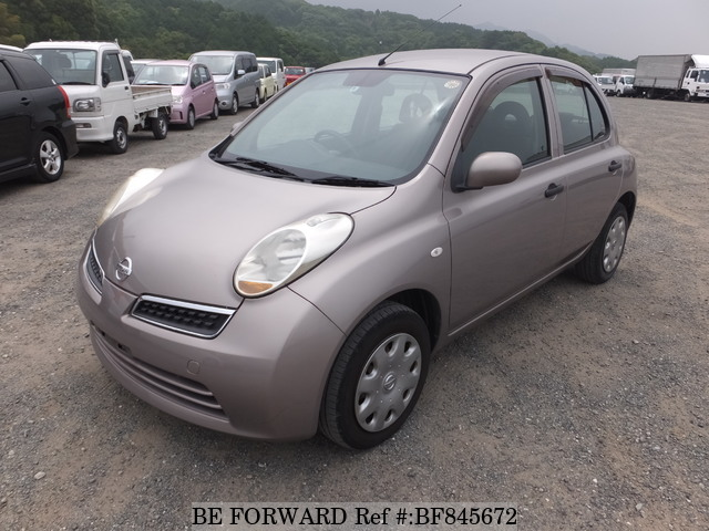 A used 2008 Nissan March from online used car exporter BE FORWARD.