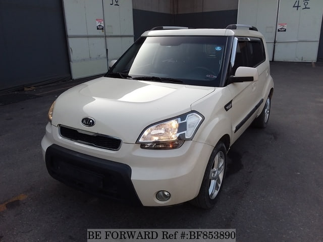 A used 2009 Kia Soul from online used car exporter BE FORWARD.