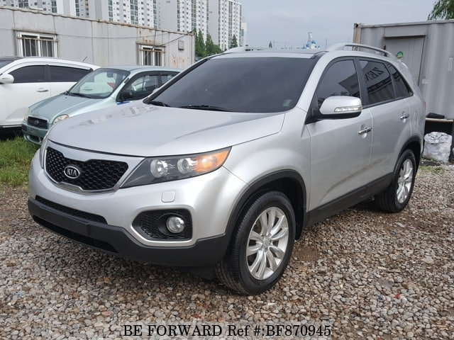 A used 2010 Kia Sorento from online used car exporter BE FORWARD.