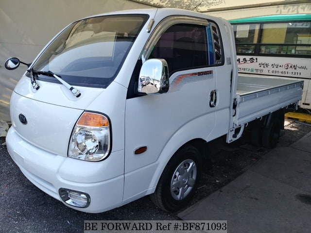 A used 2011 Kia Bongo from online used car exporter BE FORWARD.