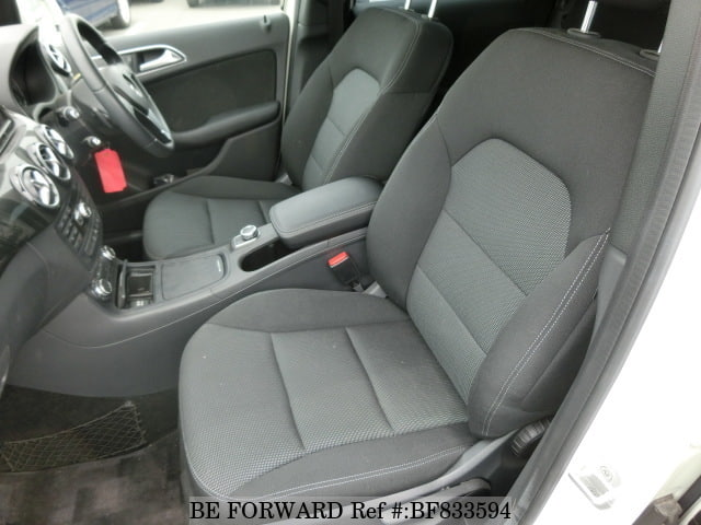 Interior of a used 2012 Mercedes-Benz B-Class from online car exporter BE FORWARD.