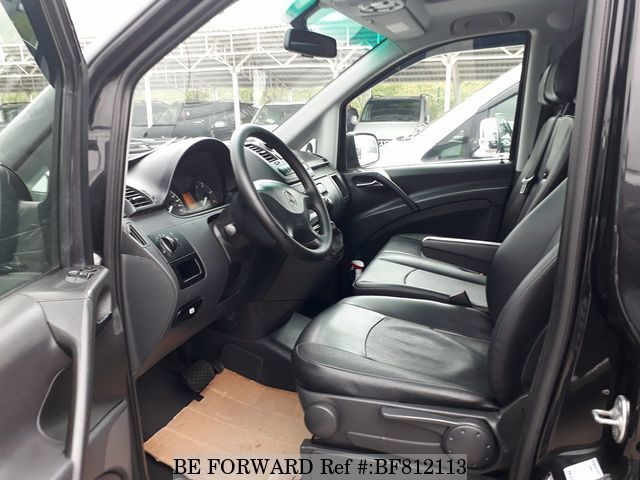 A used 2013 Mercedes-Benz V-Class interior from online used car exporter BE FORWARD.