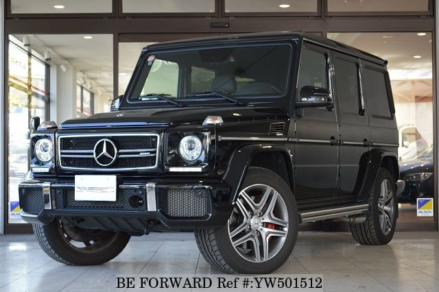 A used 2015 Mercedes-Benz G-Class from online used car exporter BE FORWARD.