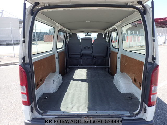 2009 Toyota RegiusAce Van Interior: 5 Used Toyota Vans to Transform Your Business