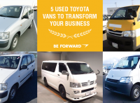 5 Used Toyota Vans to Transform Your Business