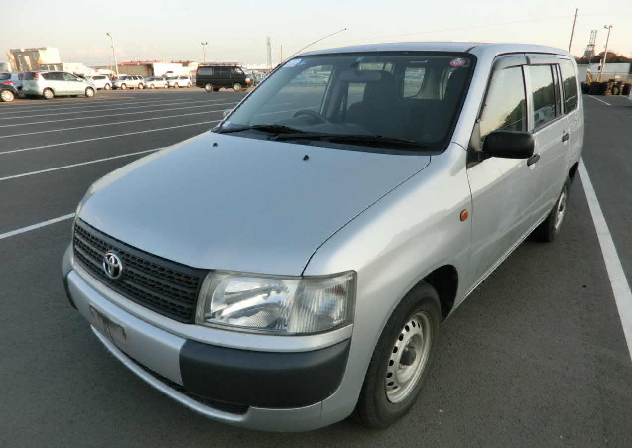 A used Toyota Probox Van - 5 Used Toyota Vans to Transform Your Business