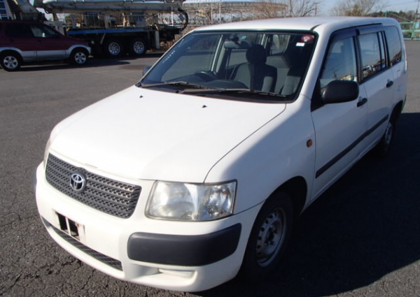 A used Toyota Succeed - 5 Used Toyota Vans to Transform Your Business