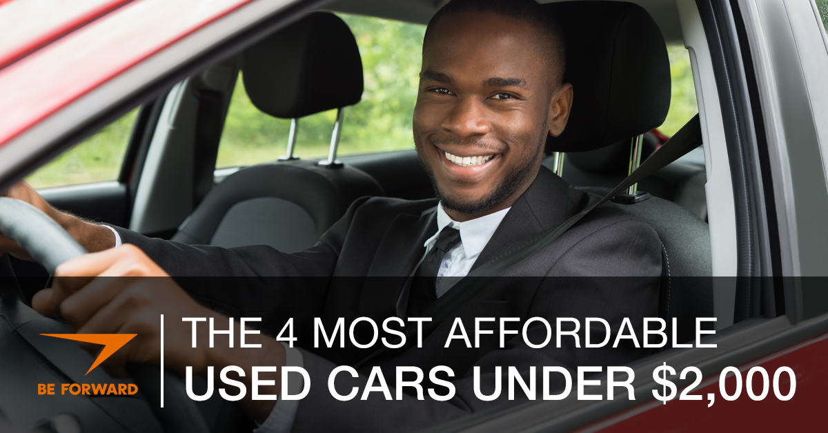 most affordable used cars under $2,000 from BE FORWARD