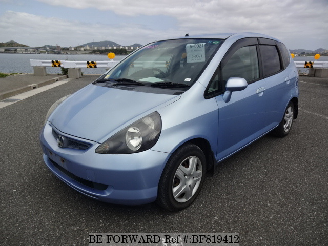 A used 2001 Honda Fit from online used car exporter BE FORWARD.