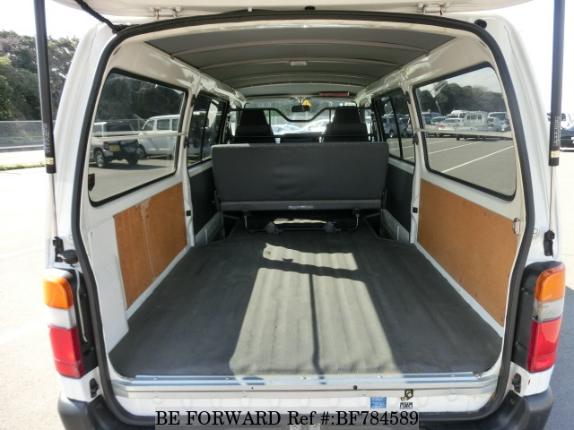 2003 Toyota HiAce Van interior - 5 Used Toyota Vans to Transform Your Business