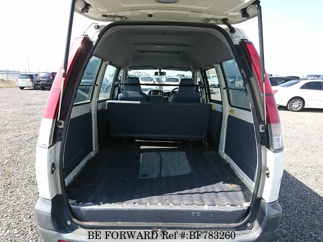The interior of a used 2003 Toyota TownAce Van from online used car exporter BE FORWARD.