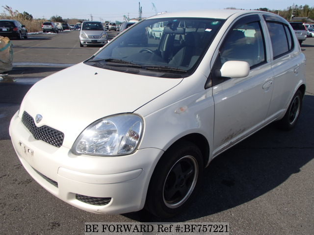 A used 2003 Toyota Vitz from online used car exporter BE FORWARD.